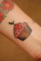 tatuagem cupcake