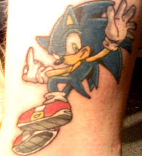 tattoo sonic the hedgehog