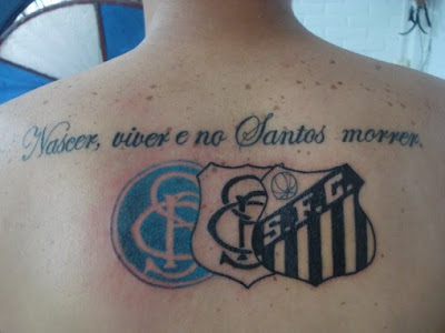símbolos santos tattoo