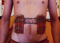 tatuagem homem bomba
