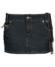 Mini jean cadenas