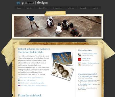 Grantmx Designs, Excellent Blog Designs