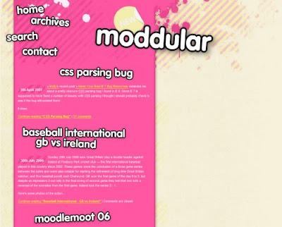 Modullar, Excellent Blog Designs