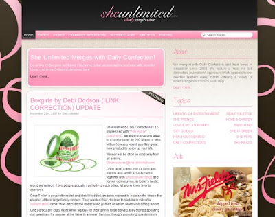 She Unlimited, Excellent Blog Designs