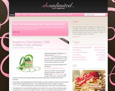 She Unlimited, Excellent Blog Designs