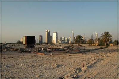 Burj Dubai, Burj Dubai Site