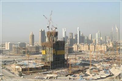 Burj Dubai, History Rising, Rising, History