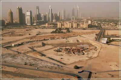 Burj Dubai Site - Aerival View, Burj Dubai, Burj Dubai Site, Aerival View