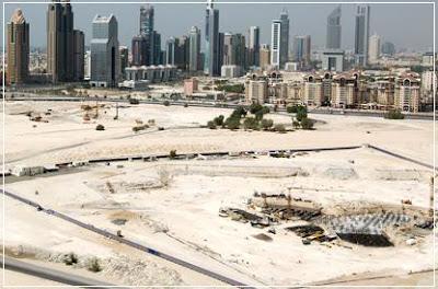 Burj Dubai Site, Burj Dubai