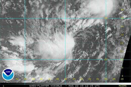 Tropical Storm Danielle 2010