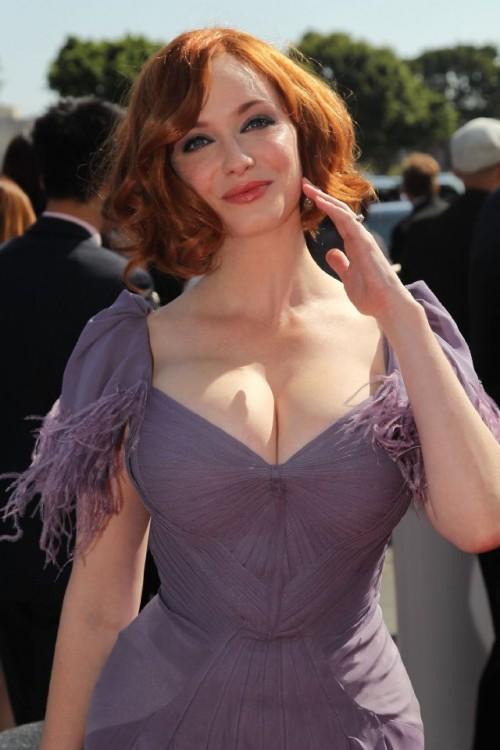 Christina Hendricks, Emmys Award 2010