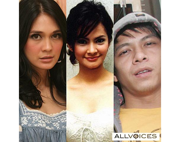 Luna Maya, Cut Tari, Ariel Peterpan