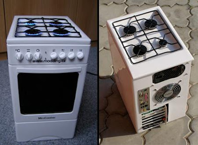Oven Computer Case