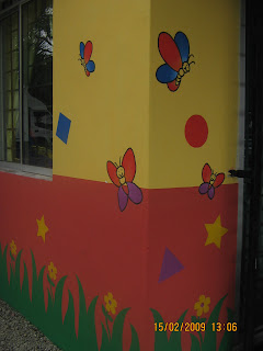 Dean design for Contoh lukisan mural tadika