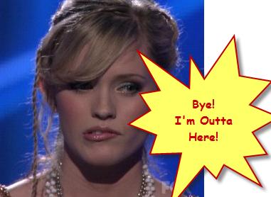 Megan Joy Corkrey Voted Off American Idol April 1 2009