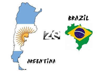 Argentina , Brazil