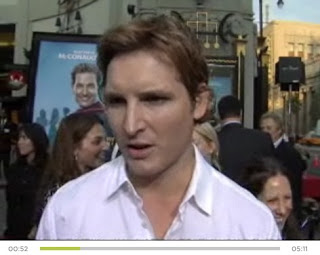 Interview vidéo de Peter Facinelli sur About.com