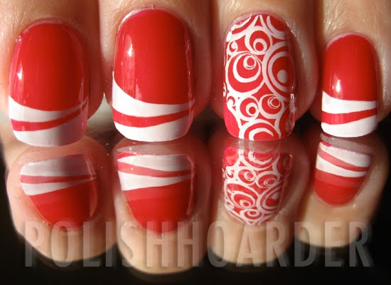 Polish Hoarder Disorder Phd Peppermint Inspired Nails