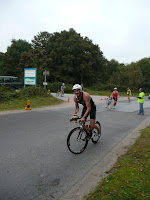 Steve Birtwistle at New Forest Triathlon 2009