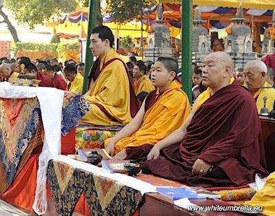 17th Karmapa, Beru Khyentse Rinpoche and Jamgon Kongtrul Rinpoche
