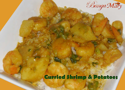 Curried Shrimp & Potatoes