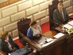 Diputada boliviana en Cámara