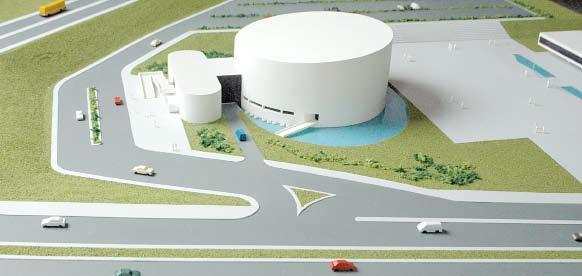 Teatro Municipal Oscar Niemeyer / Uberlândia-MG