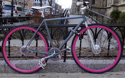 Geekhouse bike on Newbury Street