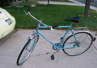 college campus bike