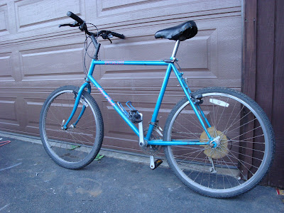 before photo vintage Specialized Hard Rock bike