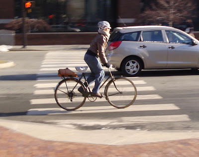 bicyclist Boston