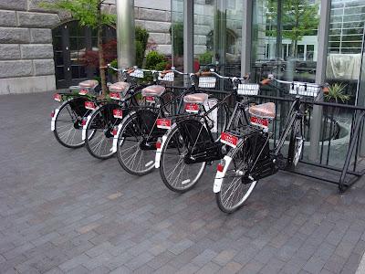 Liberty Hotel bikes
