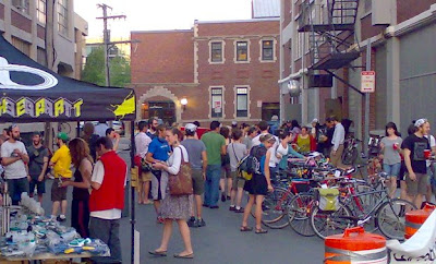 Cambridge Bicycle block party