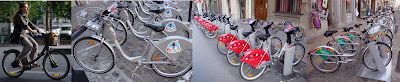 bike share programs across France