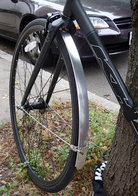 homemade bicycle fenders
