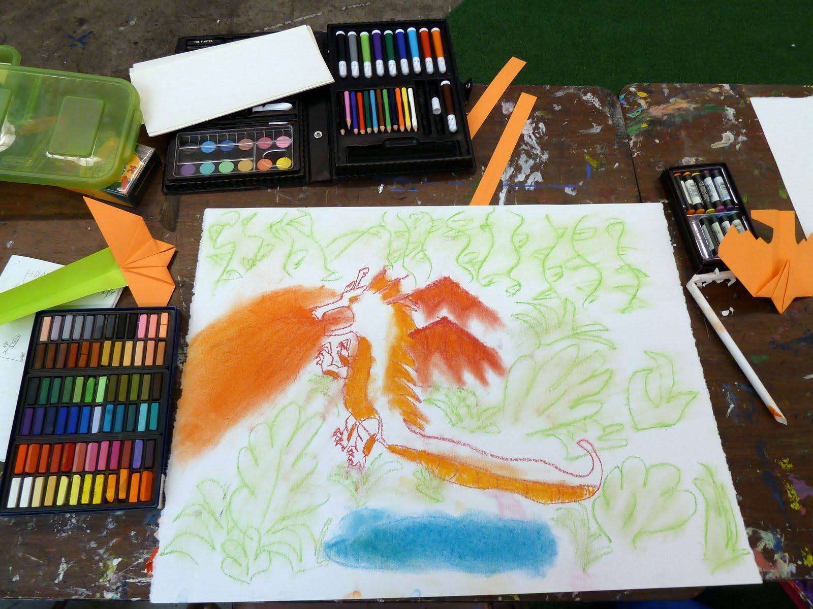 Kid Sketches Artscool Manga Cartooning Class Photojournal