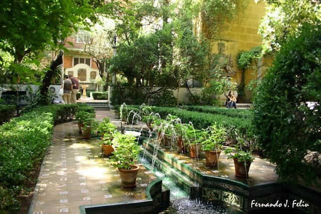 Naturaleza y medio rural jard n de la casa museo de for Casa jardin madrid