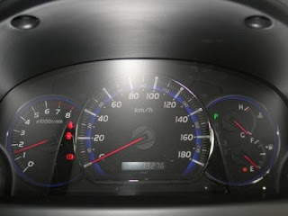 Toyota Alphard Optiron Meter