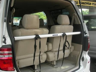 Toyota Alphard Bicycle Rack