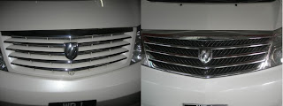 Toyota Alphard Front Grille