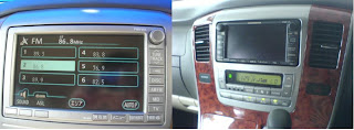 Toyota Alphard Head Unit