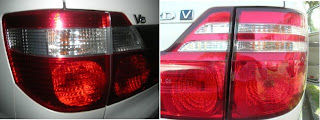 Toyota Alphard Rear Light Cluster