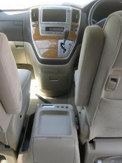 Toyota Alphard Center Console
