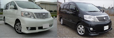 Toyota Alphard MS/AS Grade