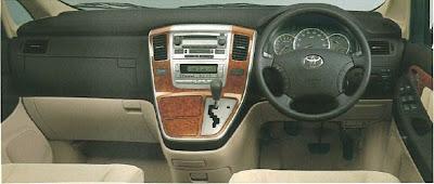 Toyota Alphard PFL AX/MX Interior