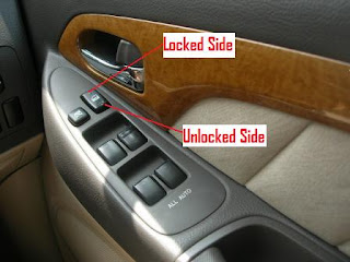 Toyota Alphard Door Lock Switch