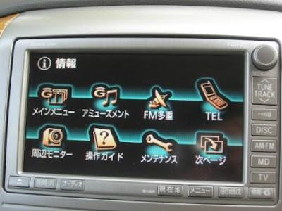 Toyota Alphard G-Book Info