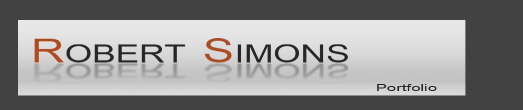 Robert Simons Portfolio