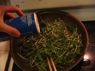 how to cook snow pea tips