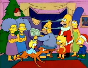 Christmas TV History: 1980s Christmas: The Simpsons